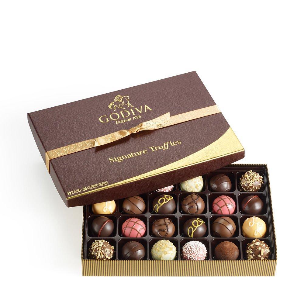 Godiva Chocolatier Signature Chocolate Truffles Gift Box Classic