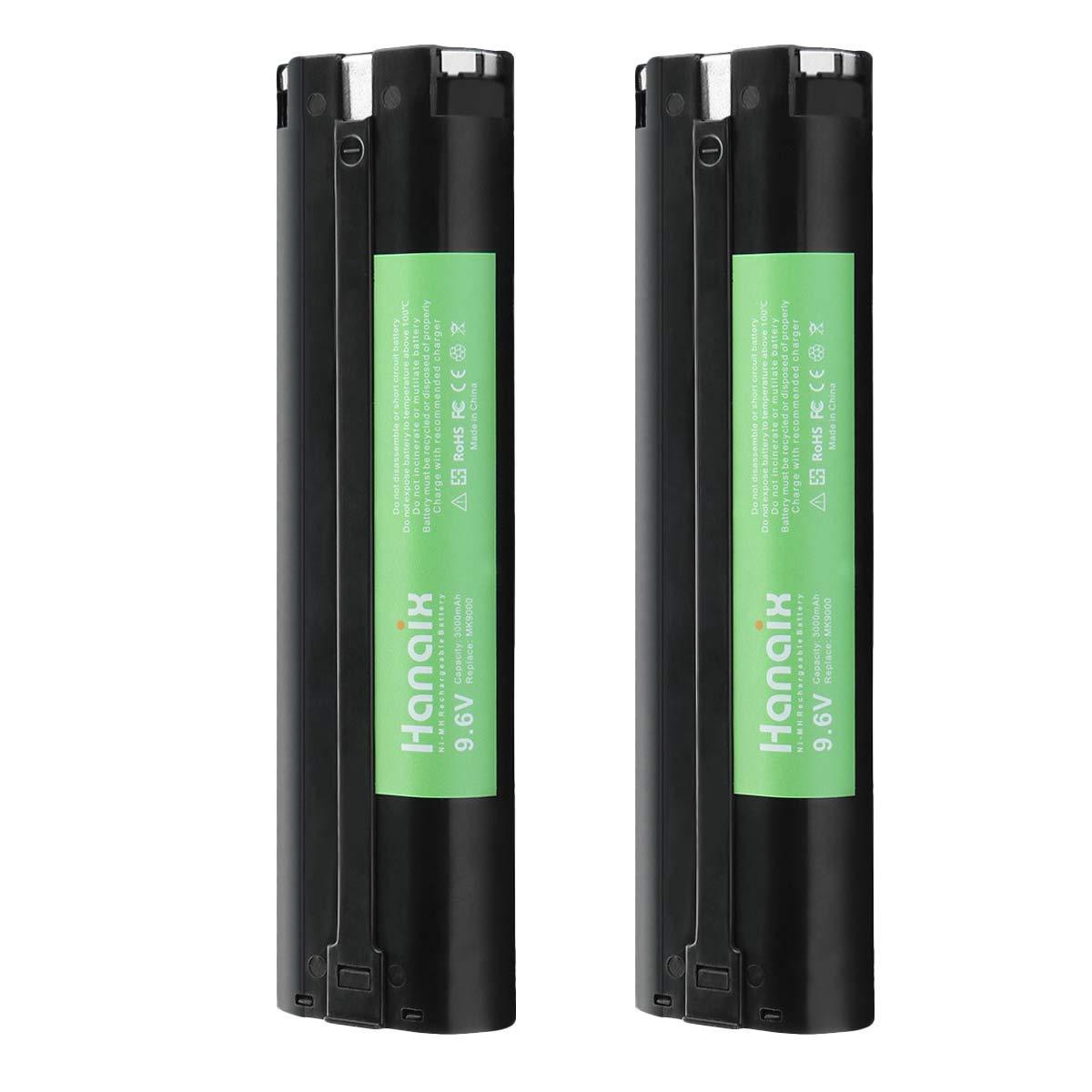 9001 Batterie 3000 mAh 9.6 V Ni-MH pour Makita 632007-4 9600 9034 9033 9002 9000