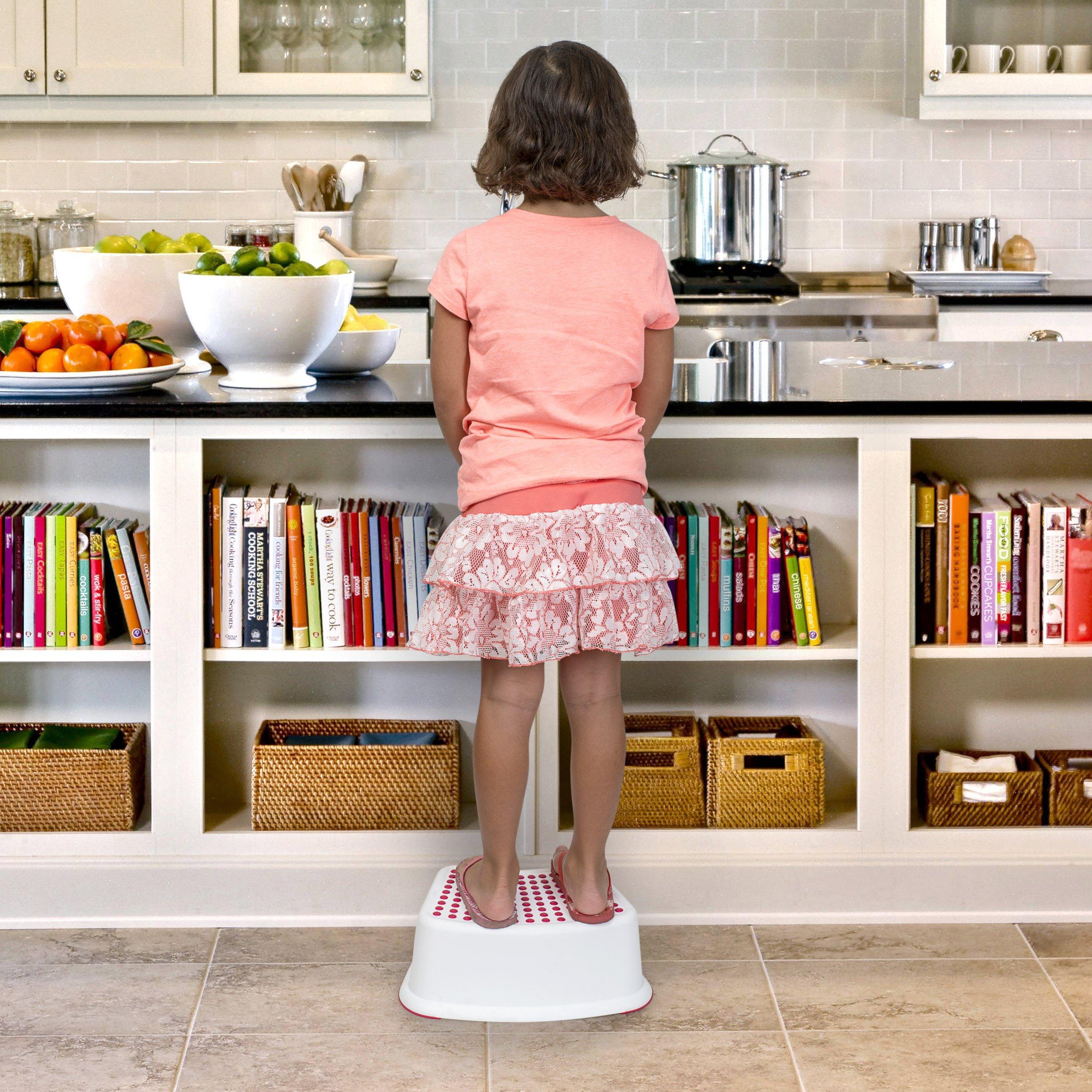 Red Step Stool For Kids Great For Potty Training