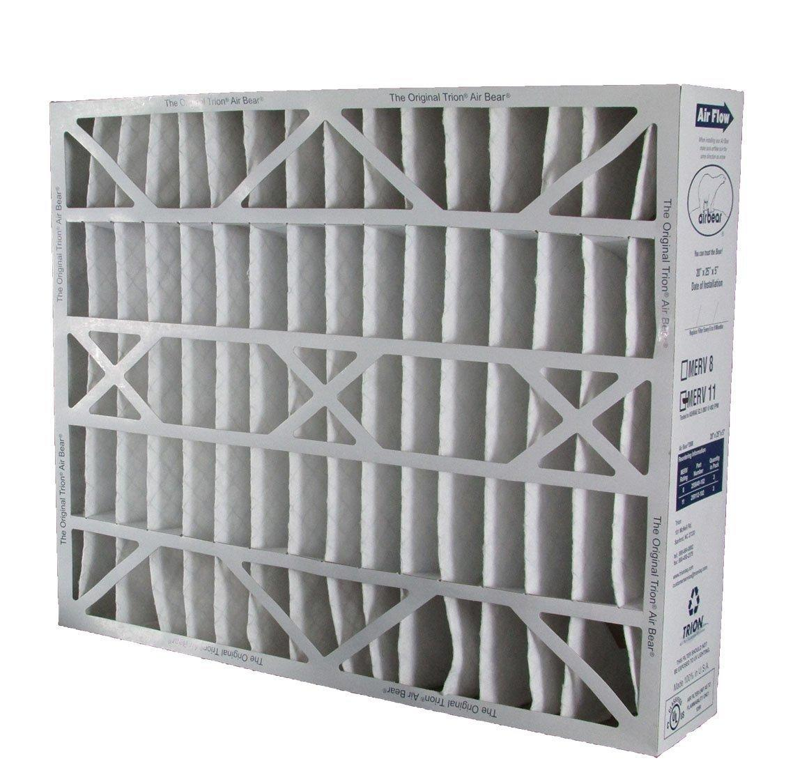 255649-102 Air Filter Filters Fast Compatible Replacement for Trion 20 x 25 x 5 MERV 8 2-Pack Actual Size: 19-5//8 x 24-1//8 x 4-7//8